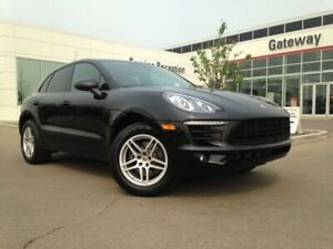 2018 Porsche Macan AWD Leather, Heated & Ventilated Seats, Backu