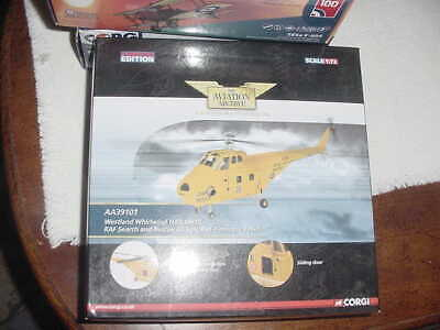 "2011Corgi Diecast Aircraft Model ""Westland Whirlwind HAR Mk10 1:72 Scale,  MIB"