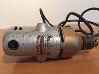 "Vintage Black & Decker Drill D500 1/4"" - 6mm 240 volt"