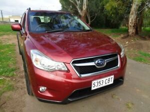 2014 Subaru XV Red Manual Wagon Mile End South West Torrens Area Preview