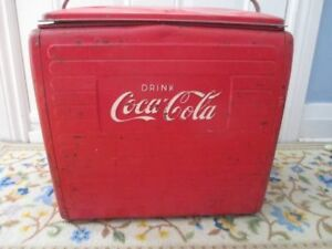 50s Coca Cola cooler box