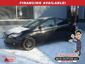 2014 Ford Focus Titanium,LEATHER!! SUNROOF!!NAVIGATION!!