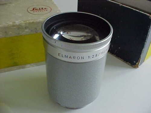 Leica 150mm f2.8 Elmaron projection lens     (box 69)