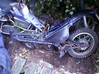 PW 90 copy frame and bodywork for sale