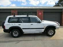 1999 Nissan Patrol GU ST (4x4) White 5 Speed Manual 4x4 Wagon Holden Hill Tea Tree Gully Area Preview