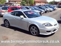 2006 (56 Reg) Hyundai Coupe 2.0I SE 3DR Coupe SILVER + LOW MILES