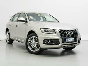 2015 Audi Q5 8R MY15 2.0 TDI Quattro Cuvee Silver 7 Speed Auto Dual Clutch Wagon Jandakot Cockburn Area Preview