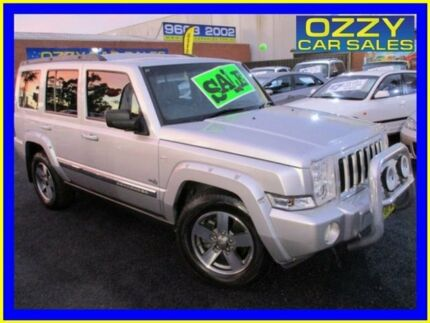 2006 Jeep Commander XH Silver 5 Speed Automatic Wagon Minto Campbelltown Area Preview