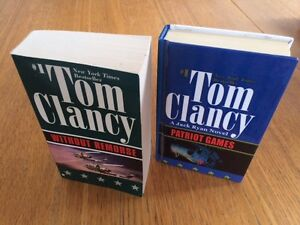 Tom Clancy Patriot Game and Without Remorse
