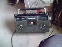 jvc old school tape radio portable stereo 80,s