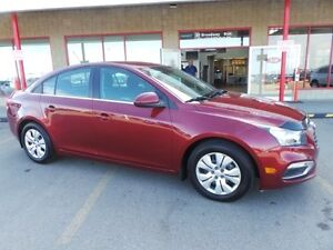 2015 Chevrolet Cruze LT Accident Free,  Heated Seats,  A/C,
