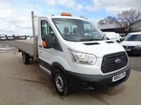 Ford Transit 2.2 Tdci 125Ps Dropside DIESEL MANUAL WHITE (2015)