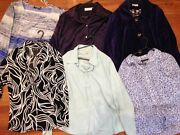 Bulk lot womens blouses and jacket sizes 16-18 Yallambie Banyule Area Preview