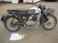 HONDA CB 125 BENLY C92 CLASSIC 1964 MOTORCYCLE