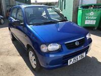 2005 Suzuki Alto 1.0 litre, MOT November, 43,000 miles, £30 a year road tax, 1 owner since 2006
