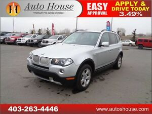 2007 BMW X3 3.0si LEATHER PANORAMIC ROOF LOW KM