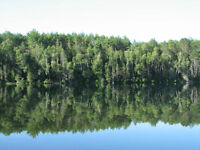 Estate Lot on Clark Lake, located in Otter Lake, Quebec