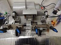 Key cutting machine with 3 boards of blanks very good condition