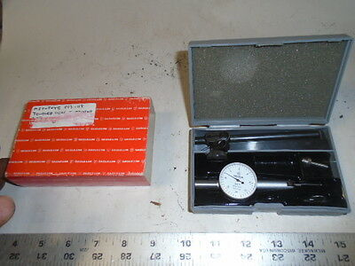 Machinist Lathe Mills Machinist Mitutoyo Dial Indicator Gage 313 118 In Case