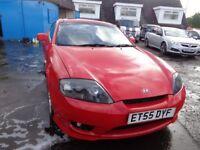 2006(56reg) Hyundai Coupe 2.0 MOT'd MAY 18 ,94,000Miles £595
