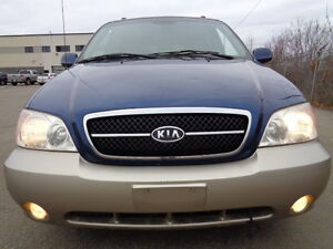 2005 Kia Sedona EX SPORT PKG-ONE OWNER  Van--ONLY 135K