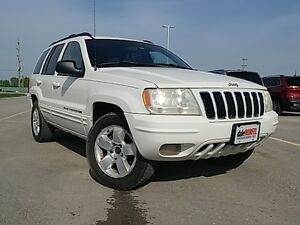 2001 Jeep Grand Cherokee Limited - As Traded