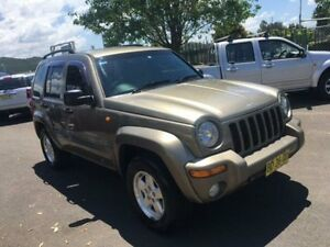 2004 Jeep Cherokee KJ Bronze 4 Speed Automatic Wagon Campbelltown Campbelltown Area Preview