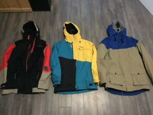 O'neill Ski /Snowboard Jackets  $125 each Men Sz Lg Like new