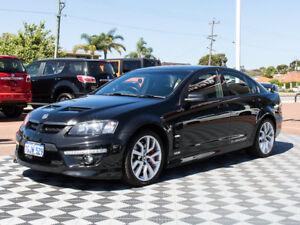2009 Holden Special Vehicles Clubsport E Series 2 R8 Black 6 Speed Manual Sedan