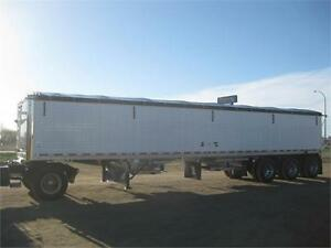 2012 Wilson tri axle grain trailer