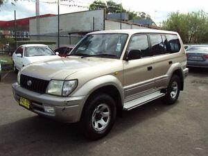 2001 Toyota Landcruiser Prado VZJ95R GXL (4x4) Champagne Gold 4 Speed Automatic 4x4 Wagon Punchbowl Canterbury Area Preview