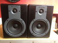 M Audio BX5a studio monitors