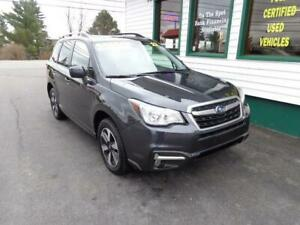 2017 Subaru Forester Touring w/Tech Pkg only $215 bi-weekly!
