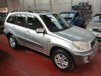 TOYOTA RAV4 GX VVT-I (silver) 2002