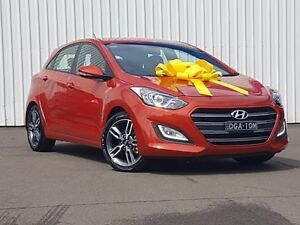 2016 Hyundai i30 GD5 Series II MY17 SR Orange 6 Speed Sports Automatic Hatchback Kings Park Blacktown Area Preview