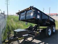 Jr's Big Tex 5x10 Dual Axle Dump Trailer