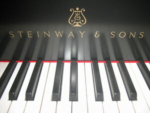 "STEINWAY 5'11"" NEW RESTORED GRAND PIANO. SO BEAUTIFUL..."