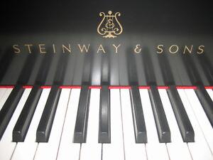"""STEINWAY 5'11"""" NEW RESTORED GRAND PIANO. SO BEAUTIFUL..."""