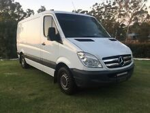 2007 Mercedes-Benz Sprinter NCV3 315CDI White  Van Torrington Toowoomba City Preview