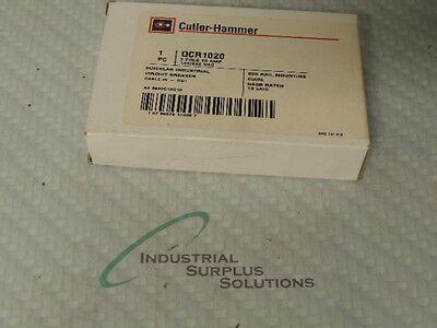 Cutler Hammer Qcr1020 Circuit Breaker