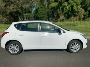 2013 Nissan Pulsar ST White 1 Speed Automatic Hatchback Ballina Ballina Area Preview