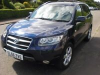 56 Reg Santa Fe CDX+4WD Very low mileage-almost full service history-very good condition.
