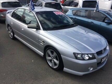 2004 Holden Commodore VZ SS Silver 4 Speed Automatic Sedan