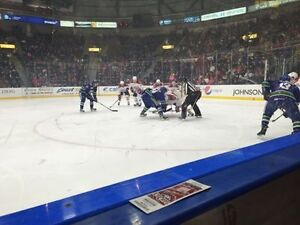 4 Front Row Ice Caps Tickets - Various Games