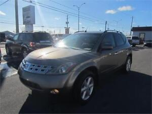 2004 Nissan Murano SE 4X4 AccorD 158.60/mois* CUIR TOIT  FINANCE