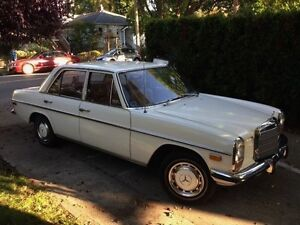 Classic 1972 Mercedes-Benz 220D, unique opportunity!