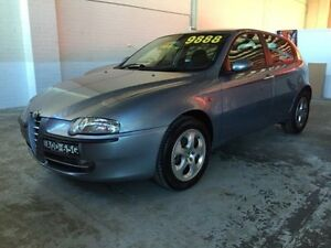2002 Alfa Romeo 147 Selespeed Blue 5 Speed Seq Manual Auto-Clutch Hatchback Fyshwick South Canberra Preview