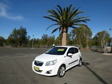 2010 Holden Barina TK MY10 White 5 Speed Manual Hatchback Cabramatta Fairfield Area Preview