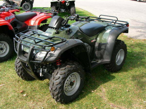Used 2007 Honda 2007 Honda TRX 400 FA/FGA, Fourtrax Rancher AT Tra
