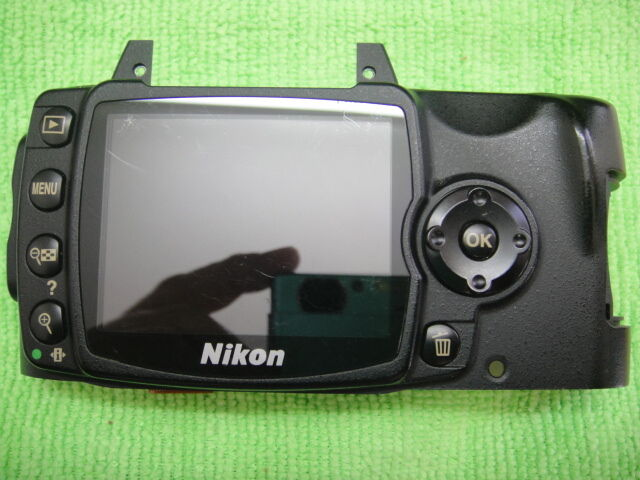 GENUINE NIKON D40 LCD WITH BACK CASE REPAIR PARTS